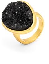 BaubleBar Druzy Cocktail Ring