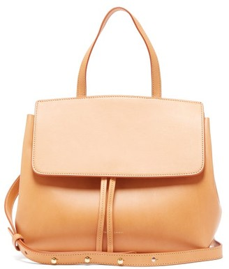 Mansur Gavriel Mini Lady Leather Cross-body Bag - Brown Multi