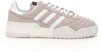 Adidas Originals By Alexander Wang BBALL SOCCER SNEAKERS 6,5 White, Grey Leather