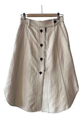 Sportmax Beige Linen Skirts