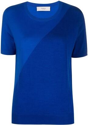 Pringle asymmetric T-shirt