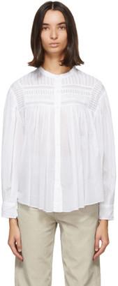 Etoile Isabel Marant White Plalia Shirt