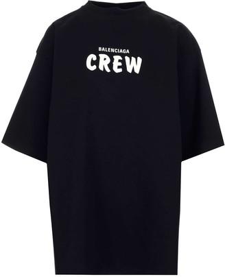 Balenciaga Crew Oversized T-Shirt