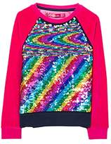 Desigual Girl's Sweat_EPICURO Sweatshirt,(Manufacturer size: 5/6)