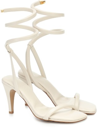 Bottega Veneta Spiral leather sandals