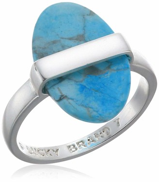 Lucky Brand Jewelry Turquoise Wrapped Set Stone Ring