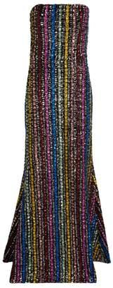 Mary Katrantzou Sequinned Ava Gown