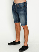 City Beach DC Shoes Washed Straight Denim Shorts