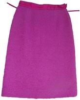 Louis Vuitton Wool Skirt