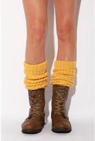 Fancy Rib Knit Legwarmer