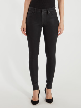 Hudson Barbara High Rise Super Skinny Ankle Jeans