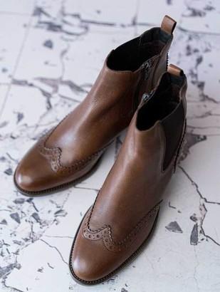 Cara Harrogate Chelsea Boot Cognac - 37