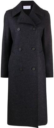 Harris Wharf London Long Sleeve Double Breasted Coat