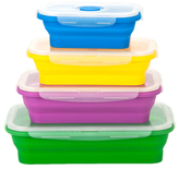 Collapsible Lunch Box Set (4 PC)
