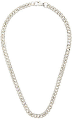 Hatton Labs Silver HL Classic Cuban Chain Necklace