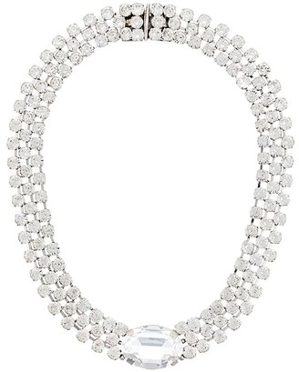 Christian Dior X Susan Caplan 1996 archive embellished collar necklace