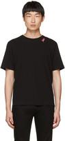 Saint Laurent Black slow Kisses T-shirt