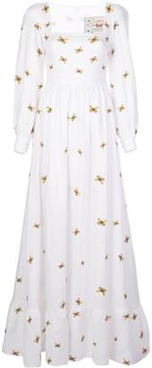 Agua Bendita Curuba butterfly dress
