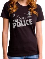 Goodie Two Sleeves Black The Police Trio Tee - Juniors