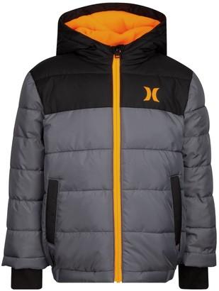 Hurley Boys 4-7 Summit Puffer Jacket