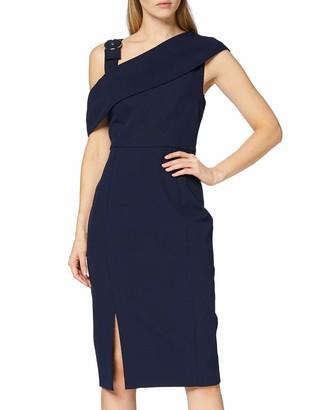 Find. Amazon Brand Women's Midi Asymmetric Dress
