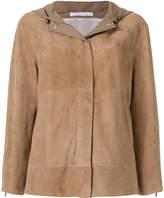 Fabiana Filippi hooded long sleeved jacket