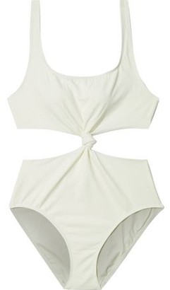 Solid & Striped The Bailey Knotted Cutout Swimsuit