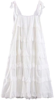 Goodnight Macaroon 'Olivia' Tiered Eyelet Dress (2 Colors)