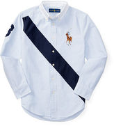 Ralph Lauren 8-20 Banner Cotton Oxford Shirt