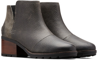 Sorel Cate Cut Out Leather Bootie