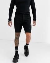Asos Design DESIGN skinny chino shorts with MA1 pocket