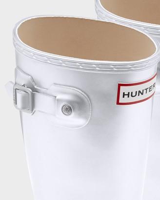 Hunter Big Kids Metallic Wellington Boots