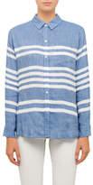 Rails Charli Linen Rayon Cataline Stripe Shirt