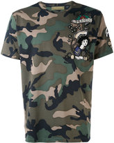 Valentino camo-print T-shirt - men - Cotton/Polyester - S