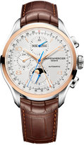 Baume & Mercier Men's Swiss Automatic Chronograph Clifton Brown Alligator Leather Strap Watch 43mm M0A10280