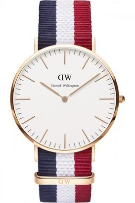 Daniel Wellington Mens Cambridge 40mm Watch DW00100003
