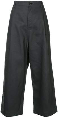 Sofie D'hoore Provence cropped wide leg trousers