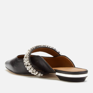 Kurt Geiger Women's Princely Leather Flat Mules