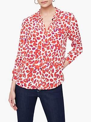 Damsel in a Dress Urban Leopard Blouse