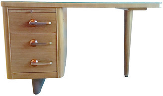 One Kings Lane Vintage Mid-Century Modern Desk - Vermilion Designs