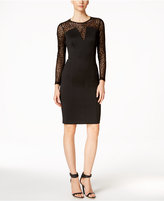 Calvin Klein Illusion Scuba Sheath Dress