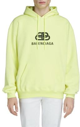 Balenciaga BB Logo Hooded Sweatshirt