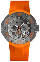 Quantum Hunter Men's Quartz Watch with Chronograph Quartz Silicone hng470.060