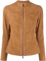 Desa 1972 fringed zipped jacket