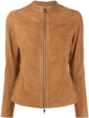 Desa 1972 Fringed Zipped Jacket