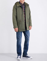 Levi's Hooded fishtail shell parka