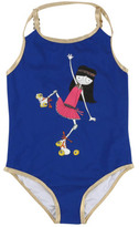 Little Marc Jacobs Sale - Rollerskate Miss Marc 1 Piece Swimsuit