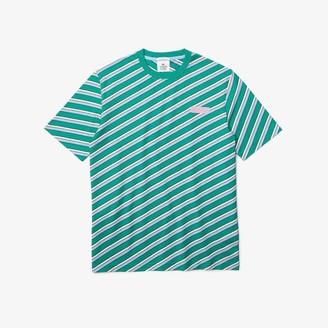 Lacoste Unisex LIVE Colored Stripe Cotton T-shirt