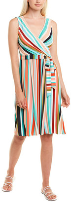 Donna Morgan Faux Wrap Dress