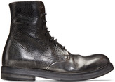 Marsèll Silver Washed Zucca Zeppa Boots